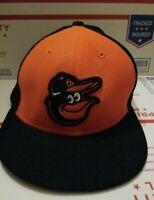 7 1/8-- Baltimore Orioles New Era 59FIFTY bp cartoon bird Cap Hat