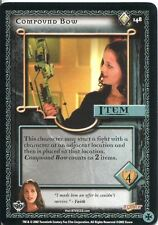 Buffy TVS CCG Limited Class Of 99 Rare Card #148 Compound Bow