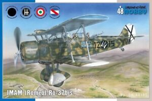 Special Hobby 48185 1:48th scale  IMAM (Romeo) Ro.37bis