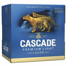 Cascade Premium Light Lager Beer 375ml Can (Pack of 24)