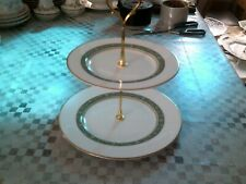 royal doulton mini cake stand with rondelay plates,dinner/tea set,immaculate.