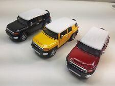 "1 Piece KiNSMART Toyota FJ Cruiser SUV off road 1:36 scale 5"" diecast model"