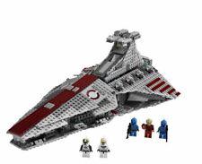 Star wars republic attack cruiser Venator w minifigures building blocks NEW 8039
