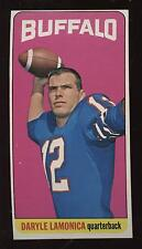 1965 Topps Football Card #36 Daryle Lamonica EXMT