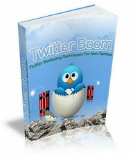 How To Market Like A Pro By Using Twitt Techniques With SOCIAL BOOM (CD-ROM)