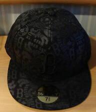Boston Red Sox New Era Hat Tonality Black MLB Cap 7 1/8