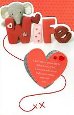 Elliot & Buttons Wife Valentine's Day Greeting Card Cute Valentines Cards