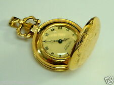 Vintage Lee Mors 14K Solid Gold Pocket or Pendant Watch Perfect Condition