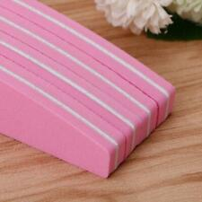 Nail Art Sand Buffer Buffing Tips Manicure Acrylic Gel File Tool 100/180 Grit