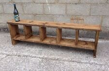 5 Hole Rustic Up-Cycled Bench.