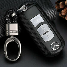 For Mazda 2 3 5 6 Cx 3 Cx 5 Cx 7 Cx 9 Carbon Fiber Style Tpu Key Fob Case Cover Fits Mazda