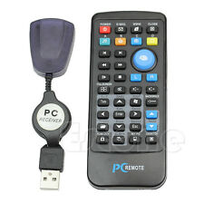 USB Laptop PC Wireless Media Remote Control Mouse Keyboard Center Controller NEW