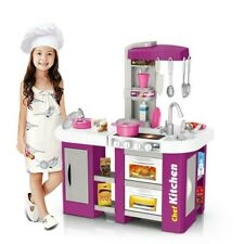 Kitchen Pretend Play Toy Playset For Girls and Boys Cooking Set Toddler Kid Gift