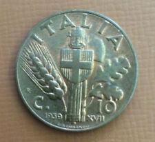 MONETA REGNO 10 centesimi Impero 1939 rame rosso spl/fdc     03/01/15