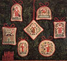A Christmas Visit Ornaments Prairie Schooler Cross Stitch Pattern Book 48