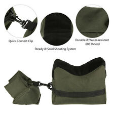 Green Front&Rear Sandbag Oxford Cloth Unfilled Bag for Shooting Rifle Support