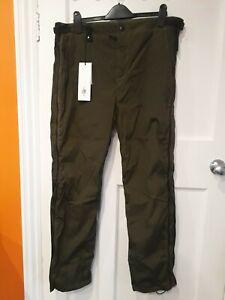New Mens CP Company 36W (50) Khaki Shell Suit Pants 30L