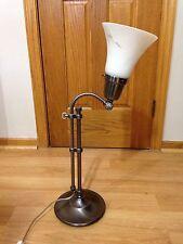 OTT-LITE Adjustable Desktop Light - Lamp Brushed Nickel Finish Ottlite