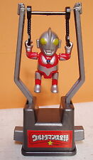 "ULTRAMAN ""THE SWING"" 2"" GYMNASTIC FIGURE GODZILLA FUN! SILVER 3 1/2 INCHES"