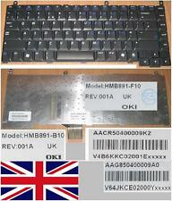 CLAVIER QWERTY UK GATEWAY MX7000 7000 HMB891-B10 HMB891-F10 AACR50400009K2 Noir
