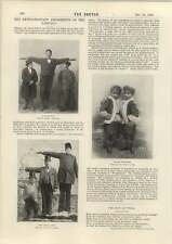 1898 divertimenti straordinari EAST End GIGANTE Boy Gemelli Siamesi GIGANTI Irlandese