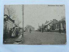 German Feldpost/Postcard. Soldiers in Brest-Litowsker Street, Kowel, Ukraine