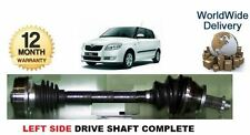 SKODA FABIA 1.2 1.4 1.6 1.9SDi 2000--> NEW LEFT SIDE DRIVE SHAFT COMPLETE