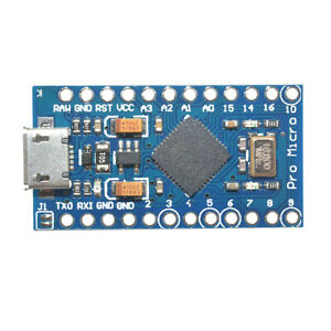 Pro Micro 5V 16MHz Leonardo ATMega32U4 Board Micro USB For Arduino