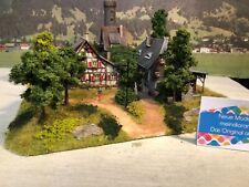 👍Diorama stillgelegte Mühle mit Wohnhaus aus Teltow patiniert gealtert H0👍