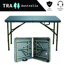Rich-Wood and Collapsible for Out Door Uline Deluxe Folding Camping Table
