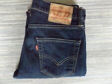 Mens Levi Strauss & Co. 511 Slim Fitting Dark Blue Jeans W30 L32