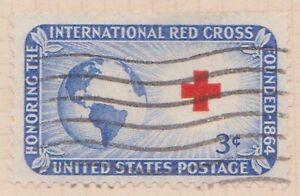 (USV-132) 1952 USA 3c Red Cross (EG)