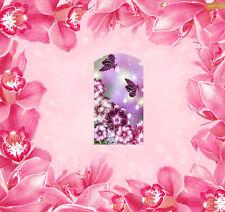 Nail Wraps Folie Tattoo Sticker Fullcover 14 Stk. Blumen - 62