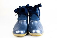 NEW - Sperry Saltwater Duck Boots 2-Eye Navy Women's size 6.5 - STS83942