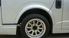 FENDER FALRES V.2 PAINTED FOR TOYOTA HIACE COMMUTER 2005 - 2010