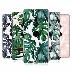 NATURE MAGICK TROPICAL PALM LEAVES ON MARBLE HARD BACK CASE FOR SONY PHONES 1