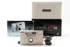 Contax Tix Carl Zeiss 28mm f/2.8 【Excellent+++++】Point&Shoot APS Film JAPAN Box