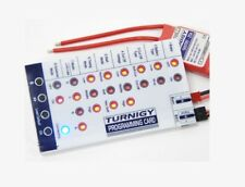 TURNIGY Brushless ESC Programming Card for Plush QBrain Quattro ESC orangeRX -uk