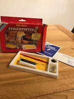 Salter Science Fun With Fingerprints Vintage Game Retro