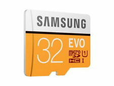 Speicherkarte SAMSUNG MicroSD-Card 32GB EVO UHS-I inc. SD Adapter Class 10