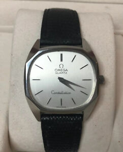 Omega Constellation Quartz Men's 1970's In Perfect Working Order With Box
