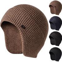 Men Women Knit Baggy Beanie Warm Winter Hat Ski Slouchy Docker Hat Cap Oversized