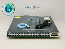 Cisco WS-C3560X-48PF-L • 48-Port PoE+ Gigabit Switch ■ 1 YEAR WARRANTY ■