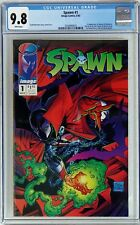 Spawn #1 (1992 Image) CGC 9.8 NM/MT 1st appearance of Spawn Todd McFarlane WHITE
