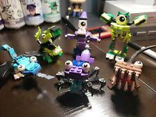 Lego Mixels Lot of 6 Complete Figures & 2 Bonus Almost Complete Figures/Doubles