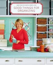 The Best of Martha Stewart Living: Good Things for Organizing : Martha...