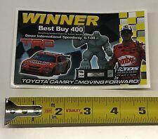 NASCAR JGR 2008 Winner Decal #18 Kyle Busch 2008 Combos DOVER Best Buy 400