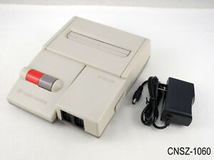 Nintendo AV Famicom + Power Adapter HVC-101 System Console US Seller Japanese B