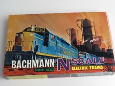Bachman N Scale Diesel and 4 Car Electric Train NO 4005 1500 Union Pacific NOS