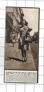 """1947 Leni Lynn Leading Role At Covent Garden """"Sophie"""" Rosenkvalier"""